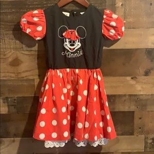 Vintage Disney Minnie Mouse Dress, early 1990's